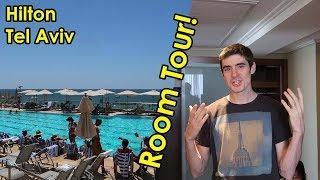 Luxury Hilton Tel Aviv ROOM TOUR and REVIEW