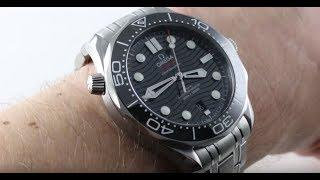 2018 OMEGA SEAMASTER DIVER 300M PROFESSIONAL STEEL (210.30.42.20.01.001) Luxury Watch Review