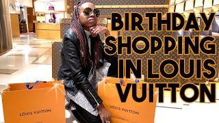 Luxury Birthday Shopping in ROME! | Louis Vuitton, Balenciaga, Saint Laurent etc