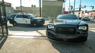 #RDBLA Police vs. Rolls Royce, Widebody Lambo, lots of Servicing