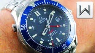 Omega Seamaster Diver 300m GMT (2535.80.00) Luxury Watch Review
