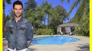 Adam Levine House Tour $18900000 Holmby Hills Luxury Lifestyle 2018