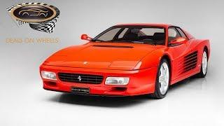 FERRARI 512 TESTAROSSA | Deals on Wheels | Dubai | UAE | Luxury cars in UAE