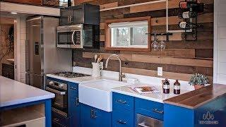 Luxury Brand New Tiny House with Spacious Outdoor Living from Tiny Heirloom