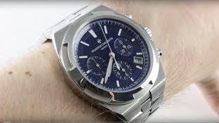 Vacheron Constantin Overseas Chronograph (BLUE) 5500V/110A-B148 Luxury Watch Reviews