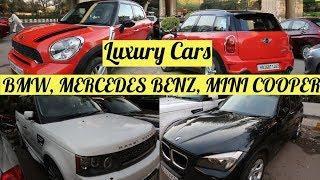 गाड़िया Luxury Cars   BMW, MERCEDES BENZ, MINI COOPER   Cars Market in Delhi