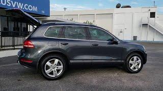 2014 Volkswagen Touareg Orlando, Sanford, Kissimme, Clermont, Winter Park, FL 4922P