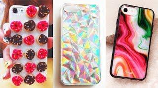 DIY Phone Case Life Hacks! 10 Phone DIY Projects & Popsocket Crafts!