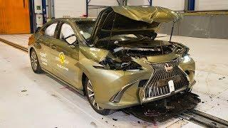 2019 Lexus ES - CRASH TEST (Very Safe Luxury Sedan)
