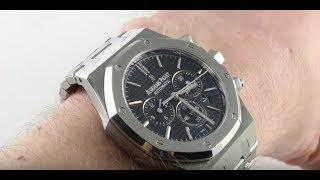 Audemars Piguet Royal Oak Chronograph 26320ST.OO.1220ST.03 Luxury Watch Review