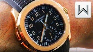 Patek Philippe Aquanaut Travel Time 5164 (5167R-001) Luxury Watch Review
