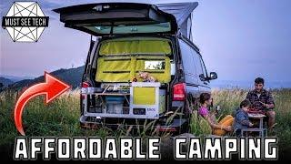 Top 8 Camping Kits and Cheap Campervans for Traveling on a Budget