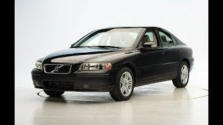 2007 Volvo S60 Frontal Low-Speed Bumper Crash Tests [IIHS]