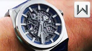 2018 Zenith Defy Classic Skeleton Dial Titanium (95.9000.670/78.R584) Luxury Watch Review