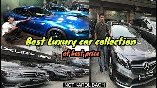 Best Second Hand Luxury Cars Market In Delhi | Mercedes | Audi | BMW | SUPERCARS