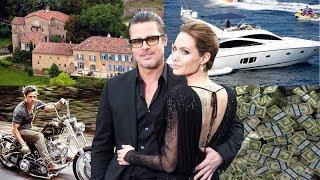 Brad Pitt Luxury Lifestyle 2018