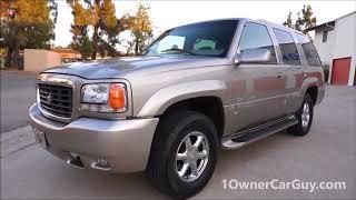 2000 CADILLAC ESCALADE AWD TAHOE YUKON LUXURY SUV ~ SOLD CARS