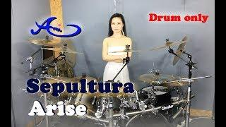 [New] Sepultura - Arise Drum only (cover by Ami Kim){35th-2}