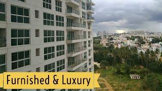 Furnished and Luxury 3BHK Apartment for Resale, near Hebbal Bangalore