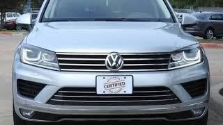 Used 2015 Volkswagen Touareg Dallas TX Garland, TX #V180574A
