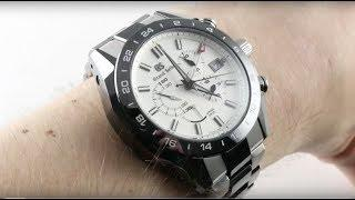 Grand Seiko Spring Drive GMT Chronograph SBGC221 Luxury Watch Review