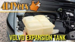 DIY: Volvo C30 S40 V50 C70 Coolant Expansion Tank Replacement