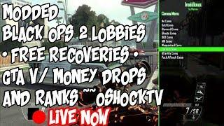 (PS3/PC/XBOX) Modded Black Ops 2 Lobbies + Free Recoveries + GTA V / Money Drops And Ranks + Coding!