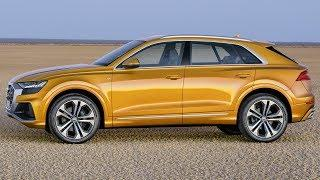 2019 Orange Audi Q8 Quattro - Luxury Coupe with the Practical Versatility of a Large SUV