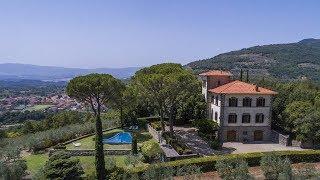 Wonderful luxury estate with a park in Loro Ciuffenna | Tuscany, Italy - Ref. 3305