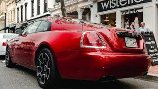Rolls-Royce Wraith Black Badge in Candy Red | Luxury Cars