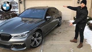 WE BOUGHT A NEW CAR!!! *BMW 7 SERIES M SPORT*