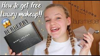 HOW TO GET FREE LUXURY MAKEUP!!!~lush leah