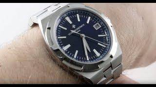 Vacheron Constantin Overseas Auto (BLUE) 4500V/110A-B128 Luxury Watch Review