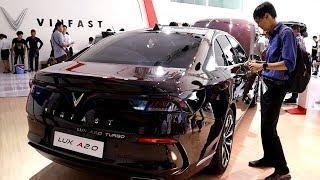 Vinfast Lux 2.0 Cormorant Brown | Vietnam Motor Show 2019