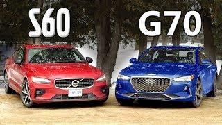 2019 Volvo S60 vs 2019 Genesis G70 // Rise Of The Underdogs