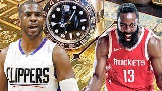 Luxury Lifestyle Of James Harden Vs Chirs Paul 2018