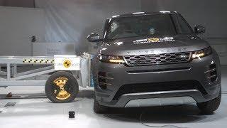 2020 Land Rover Range Rover Evoque, Velar - Crash Test