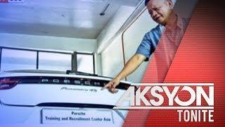 Dalawang luxury car, kinumpiska ng Customs sa isang paaralan sa Makati