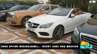 Nana Appiah Mensah NAM1's mansion and luxury cars