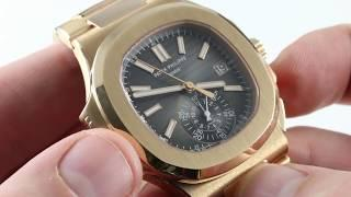 Patek Philippe Nautilus Chronograph 5980/1R-011 Luxury Watch Review