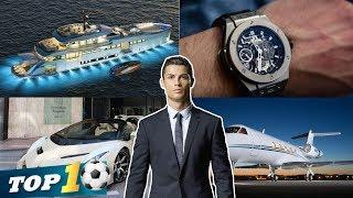 Most Expensive Thing's Owned By Cristiano Ronaldo In 2018 ⭐ CR 7 Luxurious Lifestyle | Top 10 today