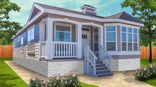 [3D Tour] Luxury Skyline Homes SUNSET RIDGE K517-G Mid Sized Home with Large Home Features