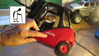 CSGOG Linde Fork Lift Truck Wire to RC control conversion PART 1