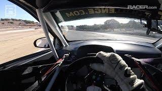 RACER: Colton Herta Hyundai TCR Visor Cam at Laguna Seca