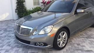 2011 Mercedes Benz E350 Luxury Review and Test Drive by Bill Auto Europa Naples