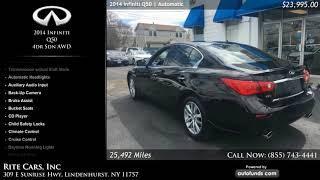 Used 2014 Infiniti Q50 | Rite Cars, Inc, Lindenhurst, NY