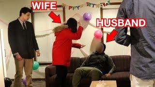Catching a Child Predator | HUSBAND CAUGHT DURING BIRTHDAY PARTY (Social Experiment)