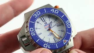 Omega Seamaster Ploprof 1200m Co-Axial Master Chronometer 227.90.55.21.04.001 Luxury Watch Review