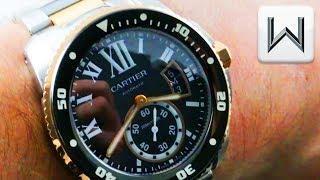 Cartier Calibre de Cartier Diver (W7100054) Luxury Watch Review