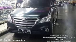 FULL UPGRADE Toyota Innova 2010 ke Innova Luxury tipe V 2014/15 + Stir Fortuner VRZ 2018